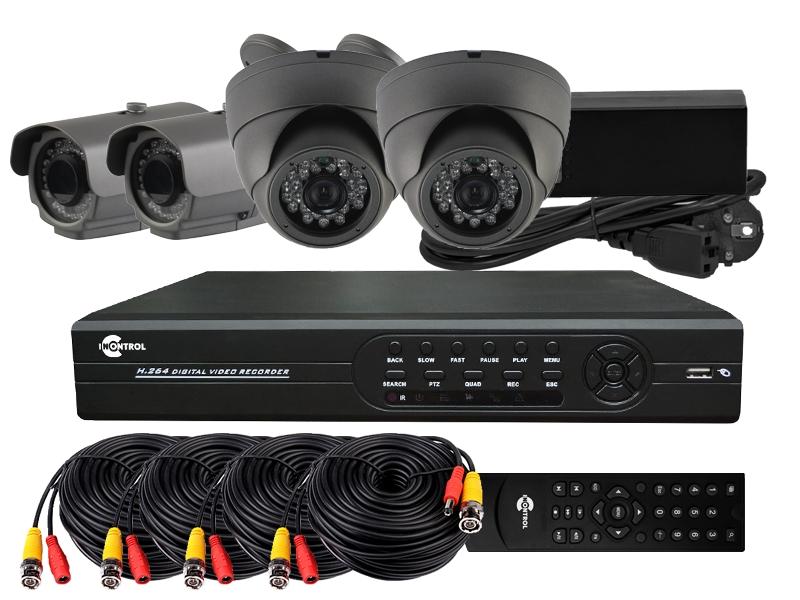 Системы видеонаблюдения. Готовые комплекты