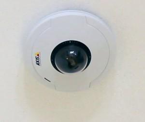 Камера на потолке