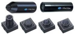 видеокамеры с объективом  Board и Pinehole