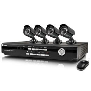 Готовый комплект  видеонаблюдения