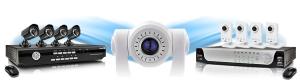 Камера видеонаблюдения, комплекты видеонаблюдения