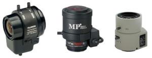 объективы камер видеонаблюдения