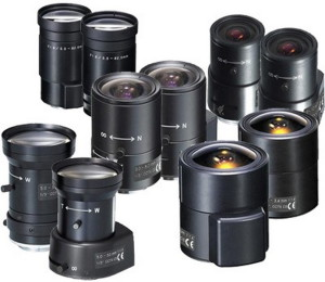 объектив камеры видеонаблюдения
