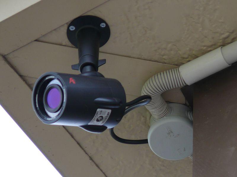 Установка камер видеонаблюдения. Монтаж систем
