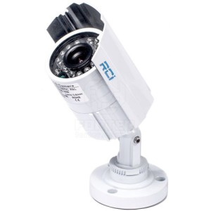 цилиндрическая наружная камера видеонаблюдения