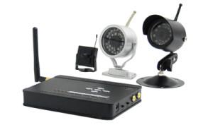 беспроводное видеонаблюдение для квартиры